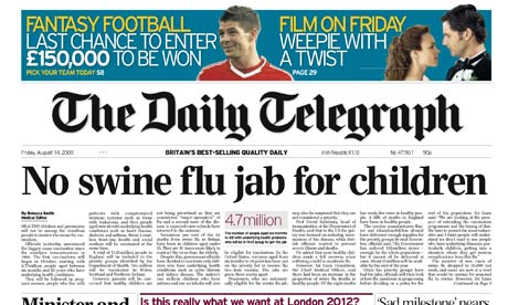 ABCs: Daily Telegraph and Daily Mail hit hardest by bulks ...
