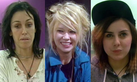 Celebrity Big Brother montage: Heidi, Katia and Lady Sovereign