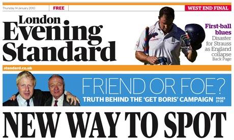 London Evening Standard 14 December