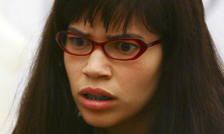 america ferrera hot pics. Ugly Betty: America Ferrera as