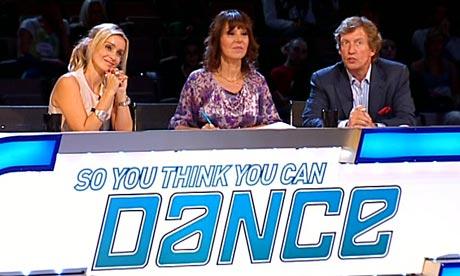 nigel lythgoe so you think you can dance. So You Think You Can Dance: