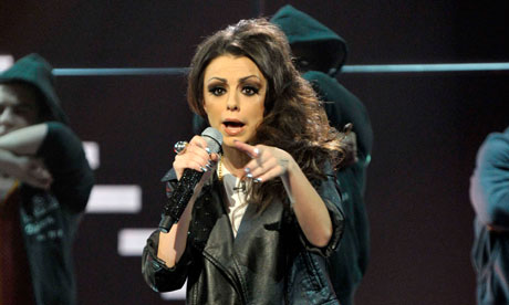 The X Factor 2010: Cher Lloyd performs