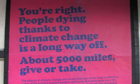 Oxfam climate change ad