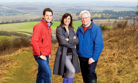Countryfile: Matt Baker,  Julia Bradbury and John Craven