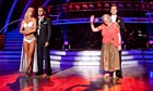 *embargoed* STRICTLY COME DANCING *results show*