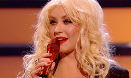 andy brown x factor. The X Factor 2010: Christina
