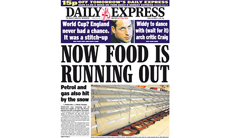 Daily Express - 3 December 2010