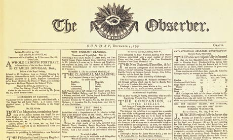 The Observer first issue