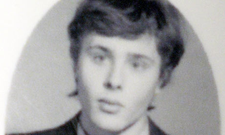 Alexander Lebedev in 1977 school photo