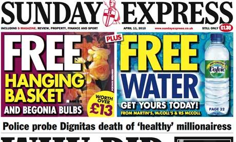 Sunday Express April 2010