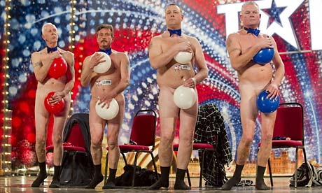 Britain's Got Talent 2010: The Cheeky Boys. Photograph: Ken McKay/PA