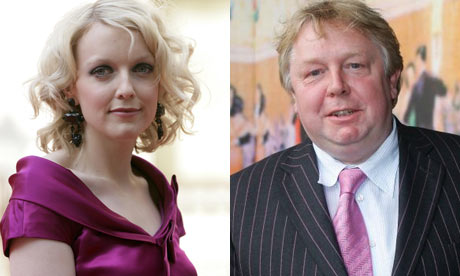 Lauren Laverne and Nick Ferrari
