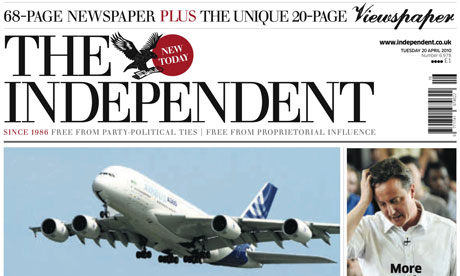 Independent April 2010 relaunch issue