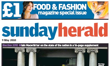 Sunday Herald May 2010