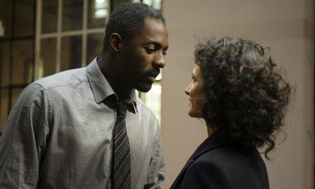 Luther: Idris Elba and Indira Varma