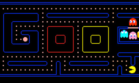 Google's Pac-Man tribute.