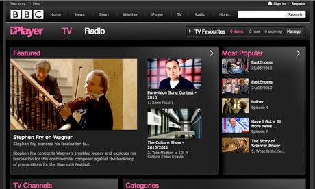 The new-look BBC iPlayer