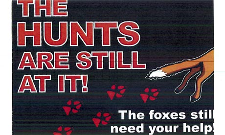 dogs trust leaflet. Lush anti-hunting leaflet