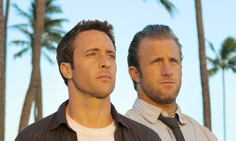alex o loughlin hawaii five o. Alex O#39;Loughlin and Scott Caan