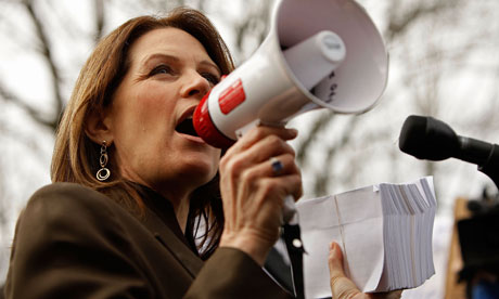 michele bachmann quo. Michele Bachmann at a rally in