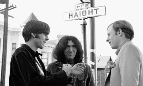 Rock Scully, Jerry Garcia and Tom Wolfe
