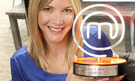 Lisa Faulkner, winner of Celebrity MasterChef 2010