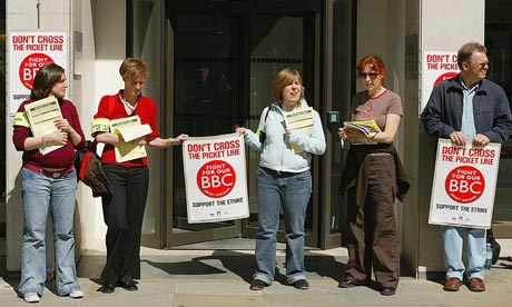 BBC Holds Strike Over Job Cuts