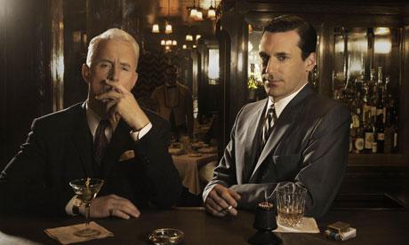Mad Men: Roger Sterling (John Slattery) and Don Draper (Jon Hamm)