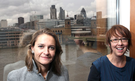 Caroline Daniel, FT Weekend editor, and Sue Matthias