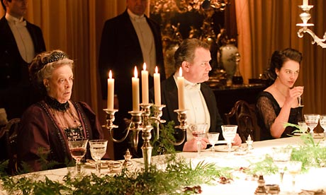 Downton Abbey: Maggie Smith, Hugh Bonneville and Jessica Brown Findlay