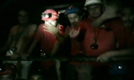 Chilean miners: A typical day in the life of a subterranean miner ...trapped miners pics 
