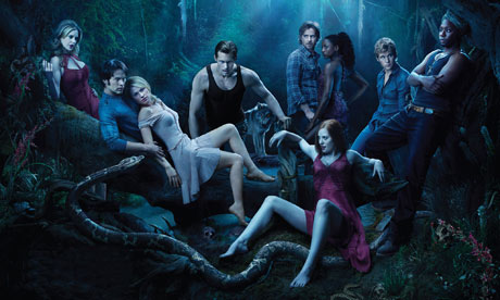 true blood rolling stone cover. True Blood season three .