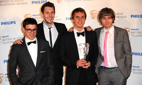 The Inbetweeners cast at the Bafta TV Awards 2010