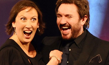 British Comedy Awards: Miranda Hart and Simon Le Bon