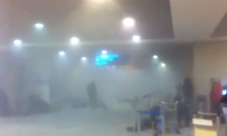 Domodedovo airport in Moscow following bomb blast