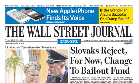 Wall Street Journal Europe
