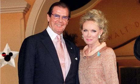 Sir Roger Moore and Lady Moore