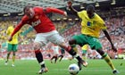 Premier League: Manchester United v Norwich City