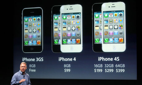 iPhone 4S: Phil Schiller reveals Apple's pricing structure