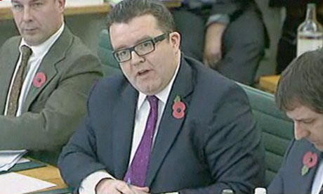 Tom Watson questions James Murdoch - November 2011
