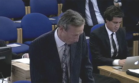 Rhodri Davies at the Leveson inquiry
