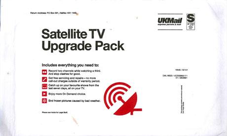 Virgin Media's 'satellite TV upgrade pack'