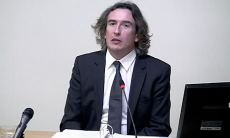 Leveson inquiry: Steve Coogan