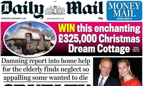 Daily Mail - 23 November 2011