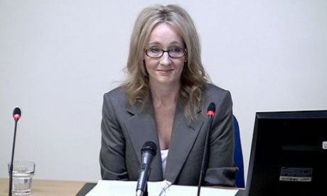 Leveson inquiry: JK Rowling