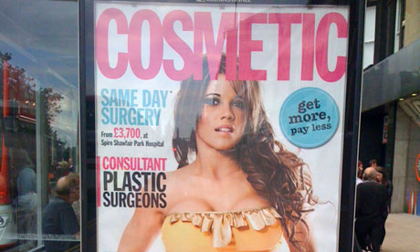 Cosmetic surgery ad