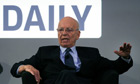 The Daily launch: Rupert Murdoch