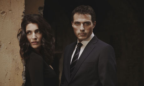 Zen: starring Caterina Murino and Rufus Sewell. Photograph: BBC/Left Bank