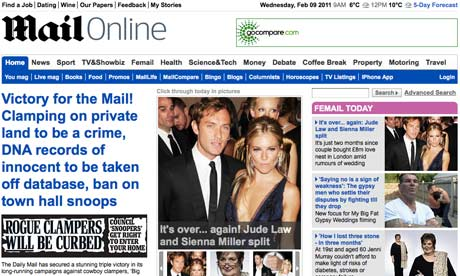 Mail Online - February 2011
