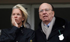 Elisabeth and Rupert Murdoch